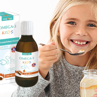 kid eating happy omega-3 norsan jelly jellies